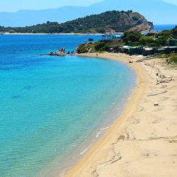 Megali Ammos - plaža na ostrvu Amuljani