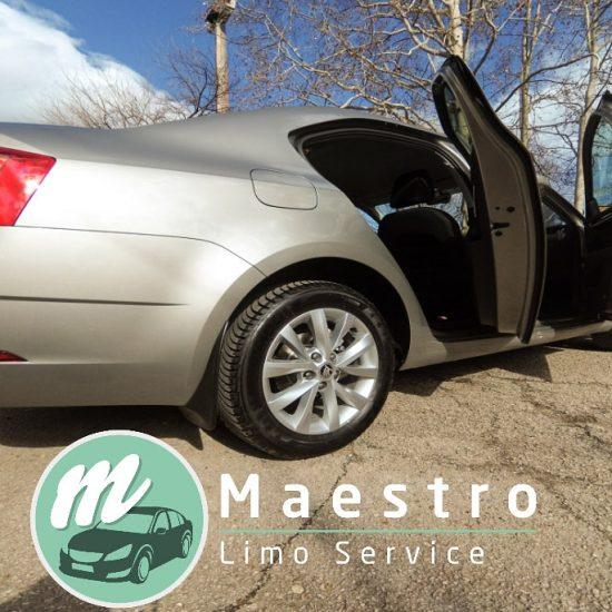 Najam vozila sa vozačem za prevoz u zemlji i inostranstvu - Maestro Limo Service Niš