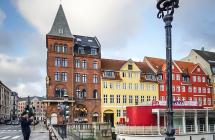 Malme Kopenhagen Švedska Danska Skandinavija